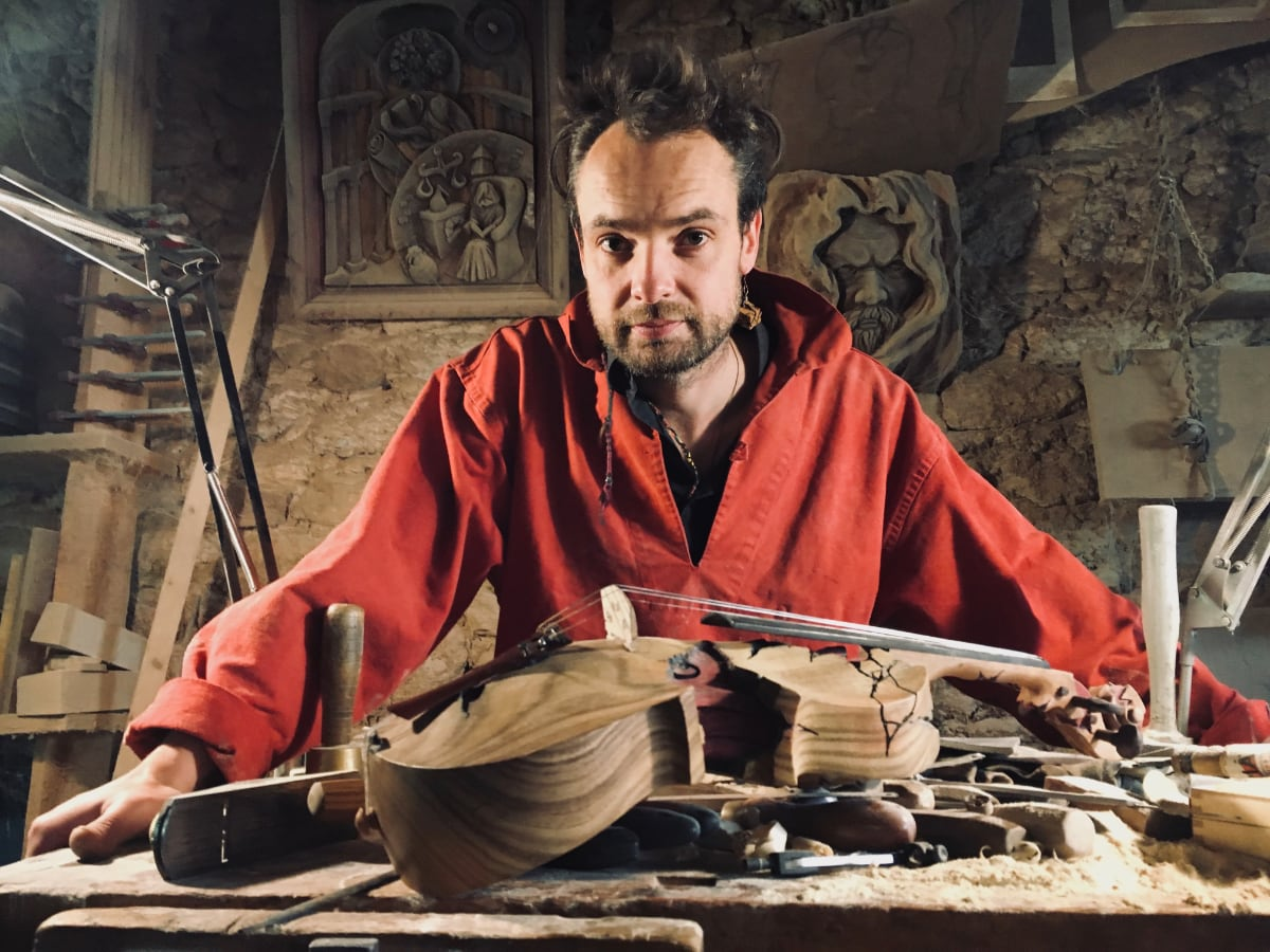 Sculpteur contemporain Alexandre Berlioz - Portrait