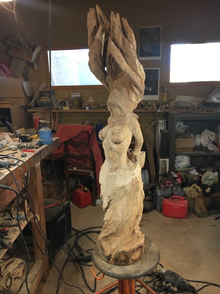 Sculpteur contemporain Alexandre Berlioz - en cours - Liberté