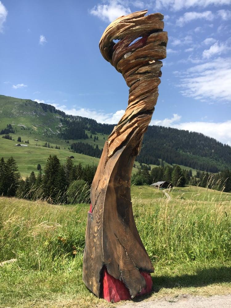 Alexandre Berlioz - Sculpture Monumentale Entre Terre et Ciel