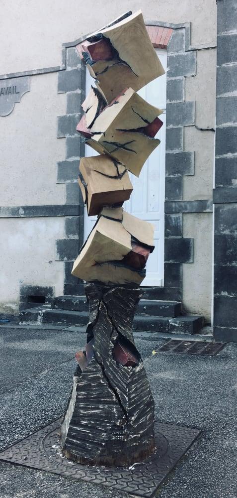 Alexandre Berlioz - Sculpture Monumentale Equilibre