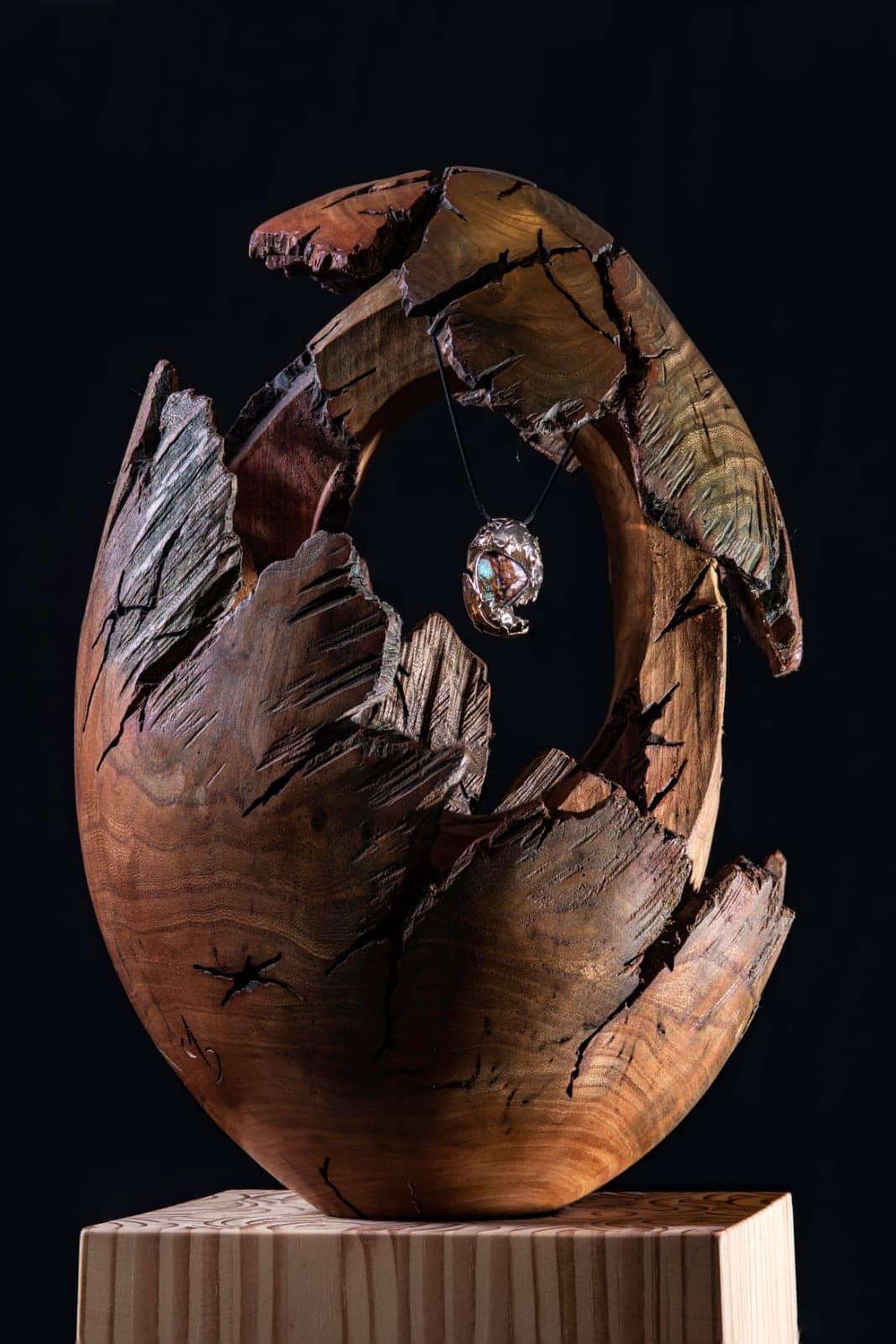 Sculpteur contemporain Alexandre Berlioz - éclosion joaillerie